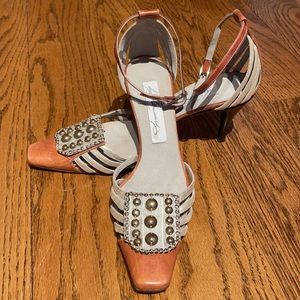 DIANA BROUSSARD ankle strap shoes size 7